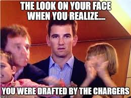 Peyton Manning Face Meme - eli manning reaction imgflip
