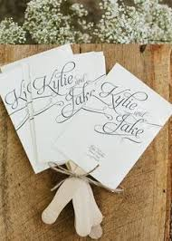 wedding program fans wording made these for my daughters wedding they were a hit wedding