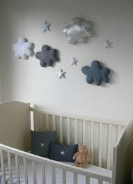 decoration nuage chambre bébé nuages bien moelleux fikou mikou