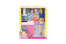 smith barbie kitchen playset with doll dolls u0026 soft toys
