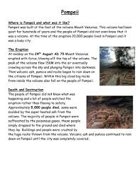 pompeii by leighbee23 teaching resources tes