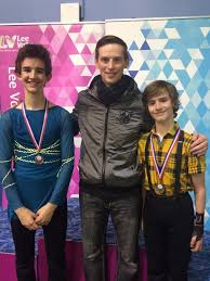 ed and elliot appleby both claim silver medals at the skate