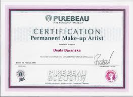 makeup artistry certification online meet certified permanent cosmetics specialist beata baranska