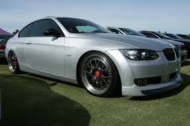 Slammed Silver Bmw 335i Coupe 6 Madwhips