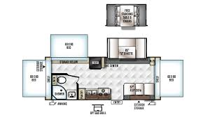 rockwood floor plans new 2017 forest river rockwood roo 233s 6268