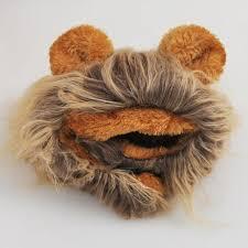 Dog Halloween Costume Lion Mane Pet Hat Costume Lion Mane Cat Wig Halloween Dress Ears