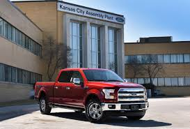 new ford truck kansas city assembly plant comes on line as second u s factory