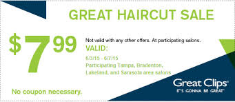 haircut specials at great clips great clips haircut sale 7 99