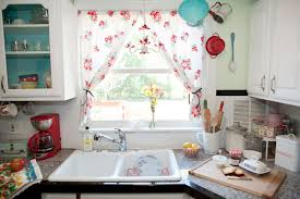 kitchen accessories graceful kitchen curtain ideas bay for window