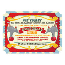 carnival invitations u0026 announcements zazzle