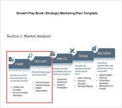 strategic marketing plan template 7 free word pdf documents