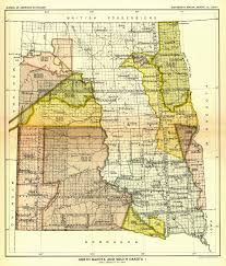 Map North Dakota Indian Land Cessions In The U S North Dakota And South Dakota 1