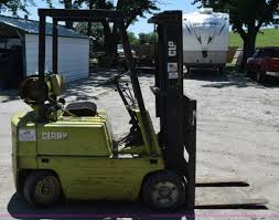 clark c500 25 forklift item l2705 sold august 12 vehicl