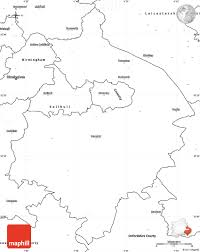 Blank Map Of Scotland Printable by Blank Simple Map Of Warwickshire County