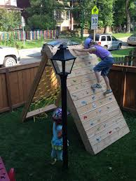 Kids Backyard Fun My Wife Was Looking At Play Structures To Give Our Three Kids