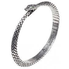 sophia serpent ouroborus pewter bangle bracelet gothic occult