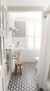 bathroom subway tile designs 10 beyond stylish bathrooms with patterned encaustic tile white