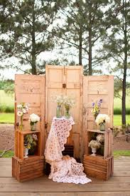 Wedding Backdrop Ideas 20 Great Ideas To Use Wooden Crates At Rustic Weddings Tulle