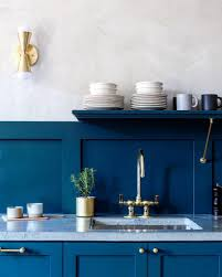 sherwin williams navy blue kitchen cabinets sherwin williams seaworthy paint color interiors by color