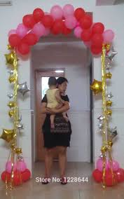 wedding decorations narrow door balloon arch base u0026 pole u0026 balloon