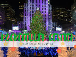 in honor of the rockefeller center tree lighting the forest scout
