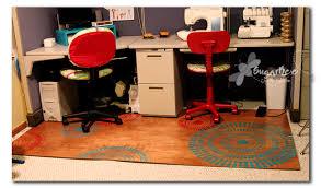 Computer Desk Floor Mats Impressive Custom Chair Mats For Carpet And Custom Chair Mats For