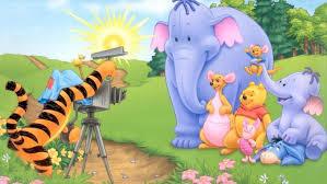 roo tigger winnie pooh heffalump cartoon game pulling