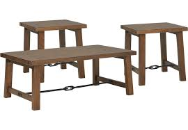 brown coffee table set living room table sets 2 piece 3 piece glass etc
