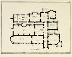 floor plan for a country estate england floor plans castles