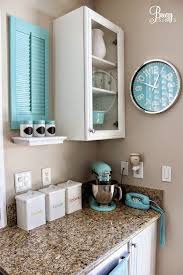 kitchen decorating ideas with accents best 25 aqua kitchen ideas on teal kitchen decor for
