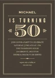 50th birthday invitations for him 50th birthday invitations for