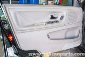 volvo v70 front door panel replacement 1998 2007 pelican parts