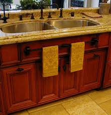 Kitchen  Stunning Kitchen Sink Base Cabinet Home Depot With Brown - Home depot kitchen sink faucets