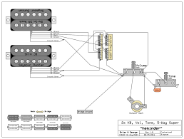 super switch wiring with dual humbuckers
