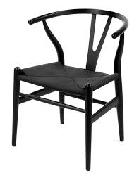 Replica Vitra Chairs The Matt Blatt Replica Hans Wegner Wishbone Chair Ash Beech Black
