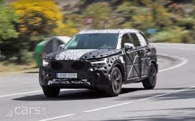 volvo xc40 spied on video as the xc60 and xc90 u0027s little sibling
