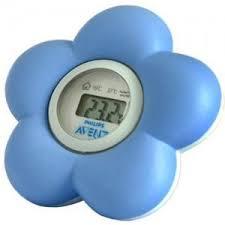thermometre de chambre avent philips thermomètre pour le bain et la chambre bleu sch550 20