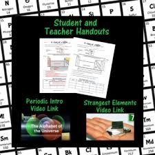 introduction to periodic table lab activity worksheet answer key introduction periodic table teaching resources teachers pay teachers