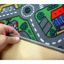 Kids Play Rugs With Roads road rugs kids city car activity play mats 1x1 5m 1x2m 1 33x2m