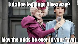 Leggings Meme - giveaway