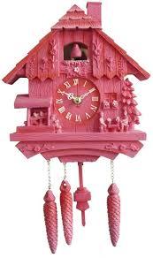 plastic kitsch cuckoo clocks reinterpreting swiss wall ornaments