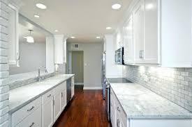 interior design and decoration white marble subway tile backsplash kitchen room marvelous stone