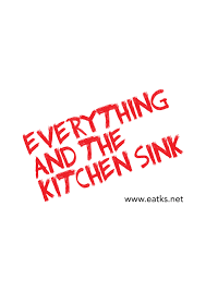 Everything And The Kitchen Sink  Bombshell Radio - Kitchen sink music