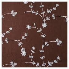 yorkshire home inas embroidered curtain panel 95