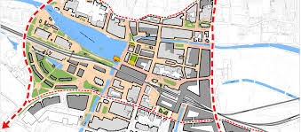 lincoln city map city masterplan place architecture