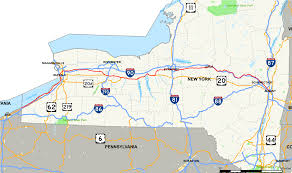 New York Map State by New York State Route 5 Wikipedia