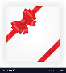 big present bow big gift bow royalty free vector image vectorstock