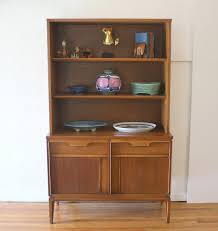china cabinets hutches mid century modern china cabinet hutch shelf unit by basicwitz