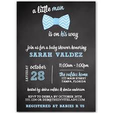 bow tie baby shower invitations chalkboard bowtie baby shower invitation the invite