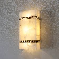 Led Wall Sconce Spain Marble Stone Wall Lamps Led Wall Sconce Bedroom Kitchen Wall